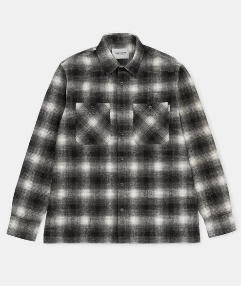 Carhartt WIP - Halleck Shirt LS - Check Black