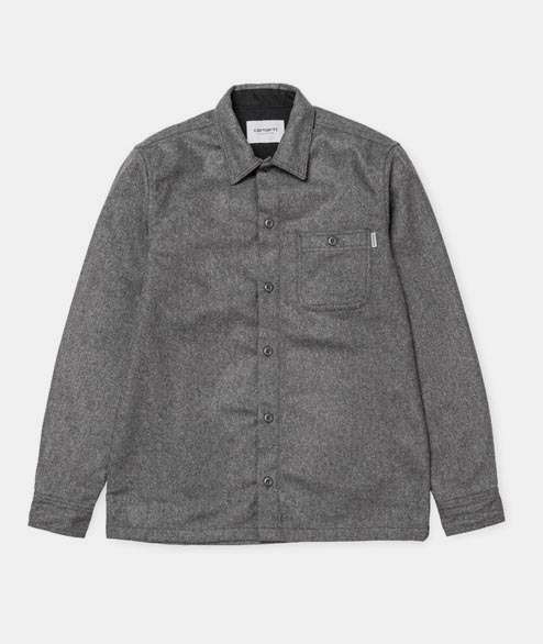 Carhartt WIP - Stover Pocket Shirt - Dark Grey Heather
