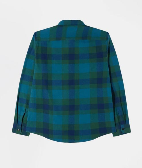 Edwin - Labour Shirt LS - Dress Blue Green