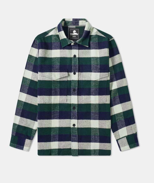 Edwin - Big Shirt - Greener Pastures Navy