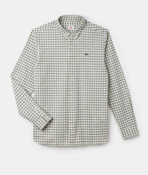 Lacoste Live - Checker Shirt - White Multi