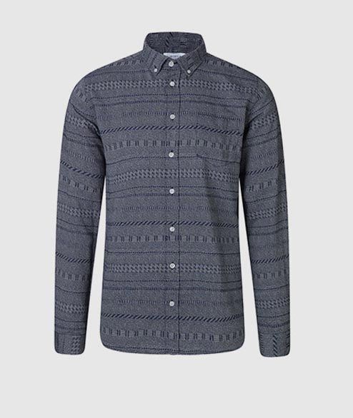 Libertine Libertine - Hunter Shirt - Dark Navy