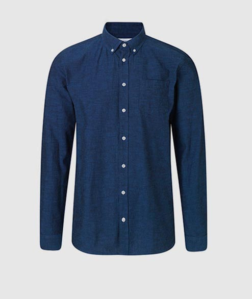 Libertine Libertine - Hunter Shirt - Ocean Blue