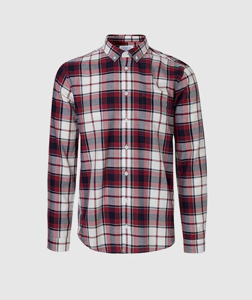 Libertine Libertine - Hunter Shirt - Dark Navy White Red