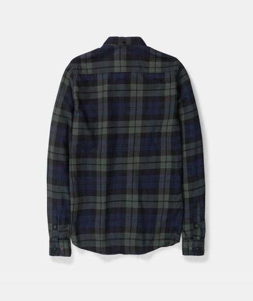 Norse Projects - Anton Flannel Check - Black Watch