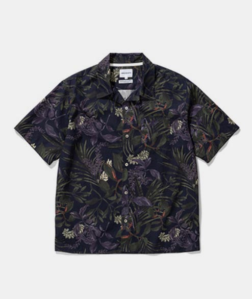 Norse Projects - Carlsten Print - Dark Navy