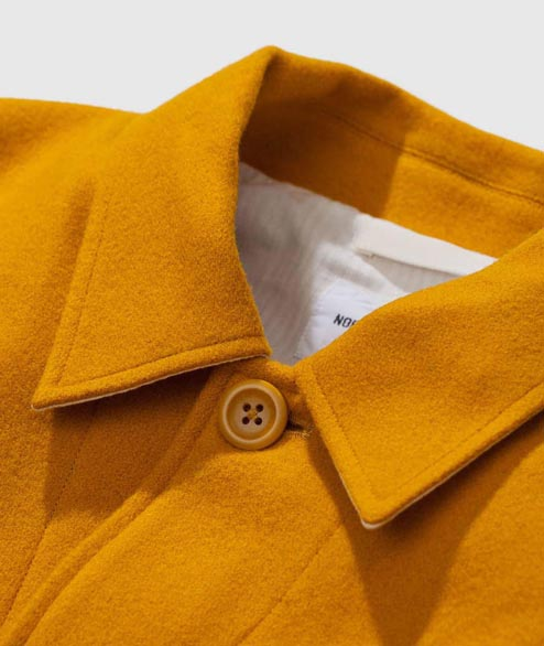 Norse Projects - Kyle Wool - Mustard Yellow