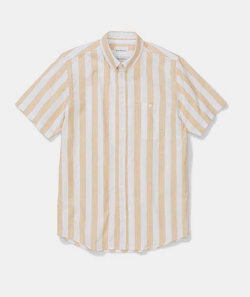 Norse Projects - Theo Oxford SS - Sunwashed Yellow