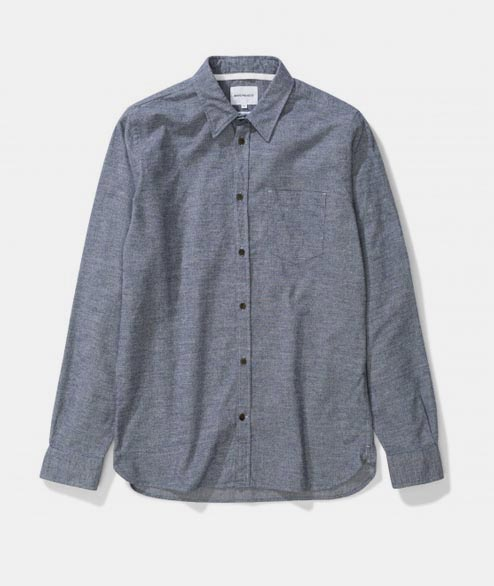 Norse Projects - Hans Mouline - Mouse Grey Melange