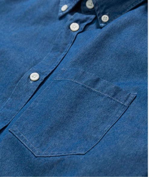 Norse Projects - Anton Denim - Sunwashed Blue