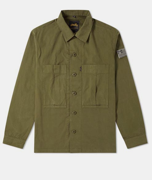 Stan Ray - Utility Shirt - Olive Drab