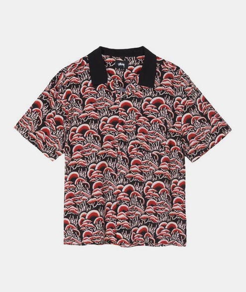 Stussy - Coral Pattern Shirt - Red