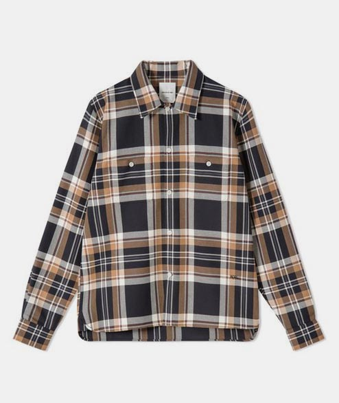 Wood Wood - Franco Shirt - Red Check