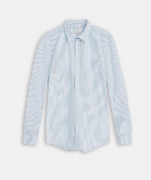 Wood Wood - Dessy Shirt - Mint Stripes