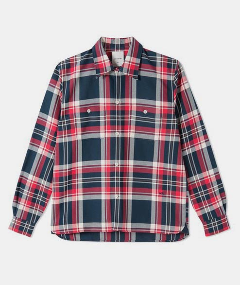 Wood Wood - Franco Shirt - Khaki Check