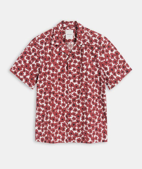 Wood Wood - Brandon Shirt - Floral Red