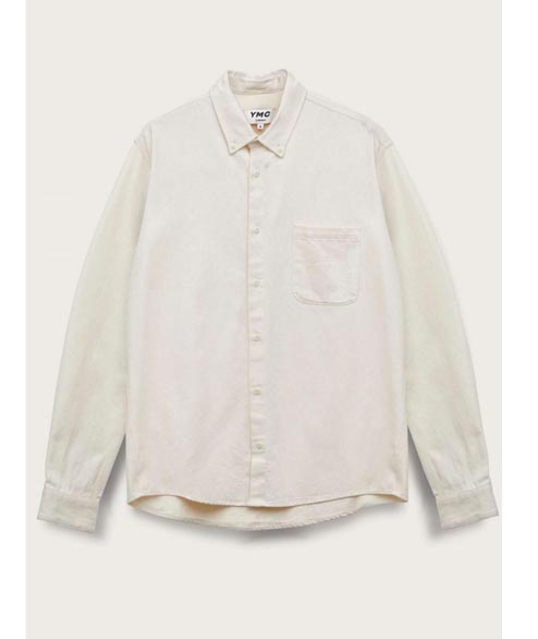 YMC - Dean Cotton Shirt - Ecru