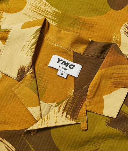 YMC - Malick Shirt - Camo Vacation