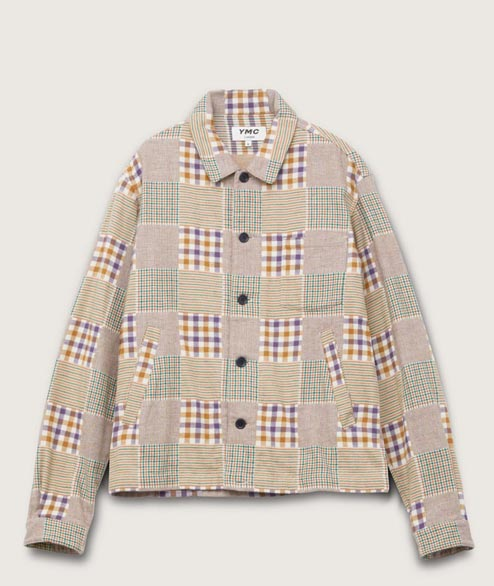 YMC - Bowling Cotton Flannel Check - Multi