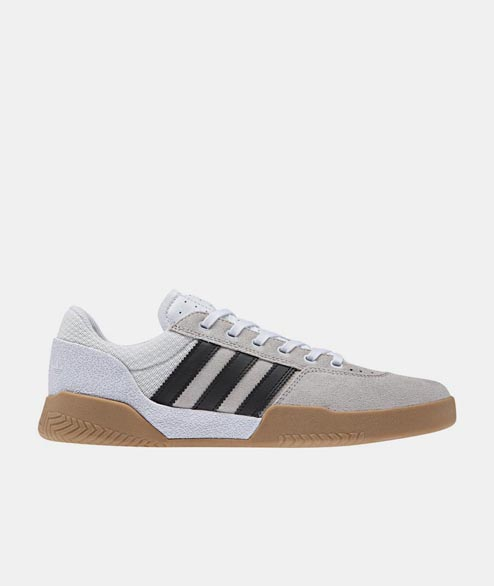 Adidas skateboarding - City Cup - White Black Gum