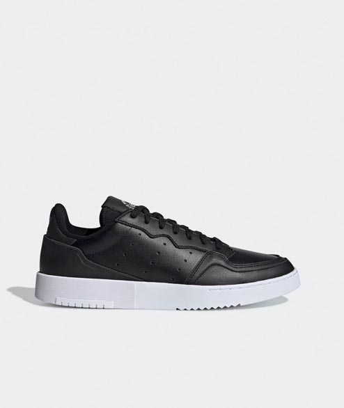 Adidas originals - Supercourt Leather - Black White