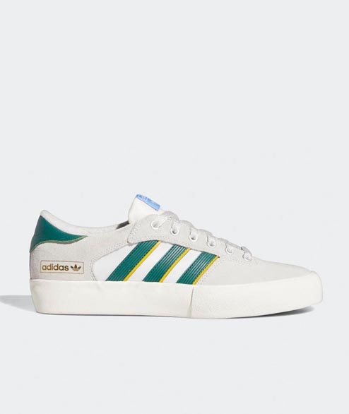 Adidas skateboarding - Matchbreak Super - White Green Yellow