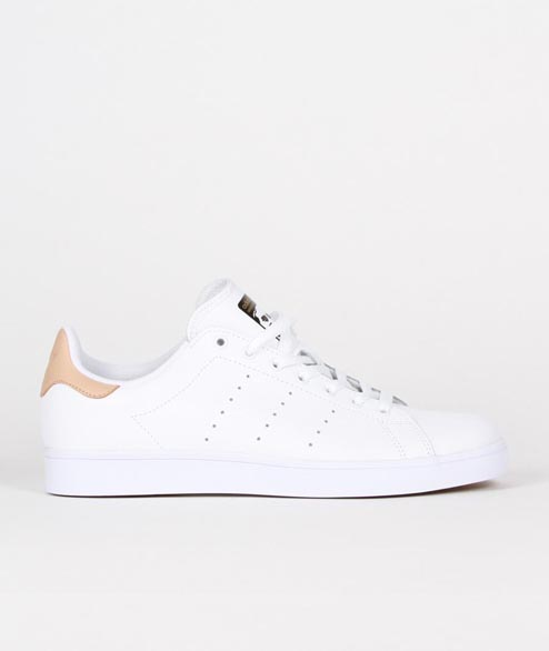 Adidas Skate - Stan Smith Vulc - White Tan