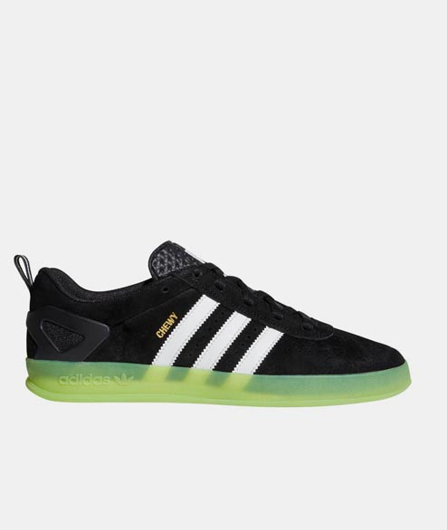 Adidas skateboarding - Palace Pro - Black White Green