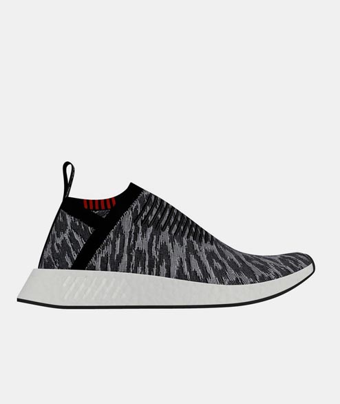 Adidas originals - NMD CS2 PK - Core Black Red White
