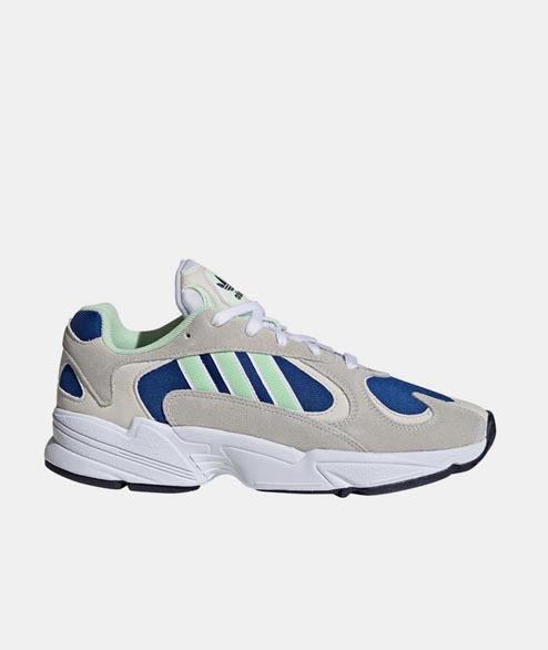 Adidas originals - Yung 1 - White Navy Green