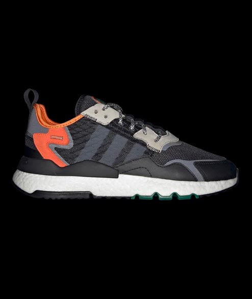 Adidas originals - Nite Jogger - Black Grey Orange