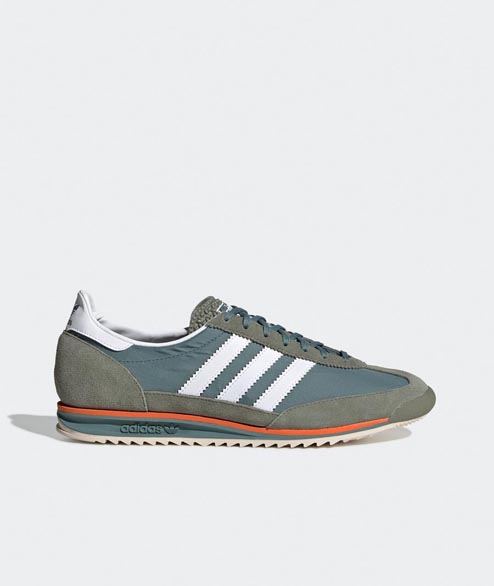 Adidas originals - SL 72 - Raw Green Cloud White Orange