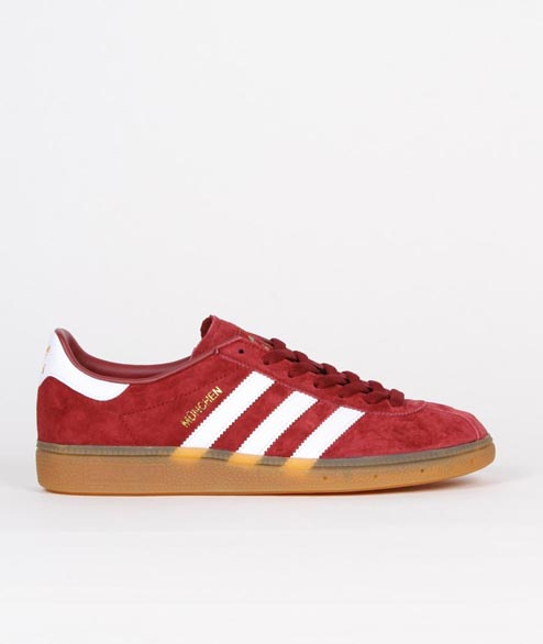 Adidas originals - Munchen - Burgundy