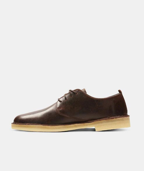 Clarks Originals - Desert London - Chesnut Leather