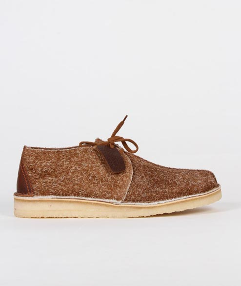 Clarks Originals - Desert Treck - Cola Hairy Suede