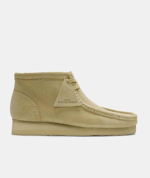 Clarks Originals - Wallabee Boot - Maple Suede