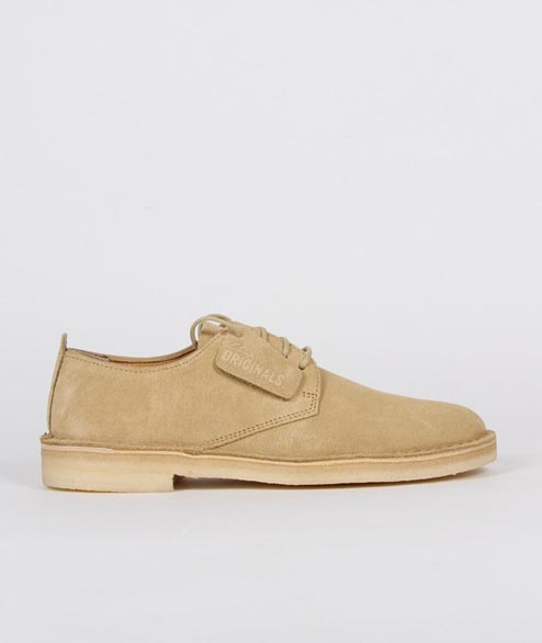 Clarks Originals - Desert London - Maple Suede