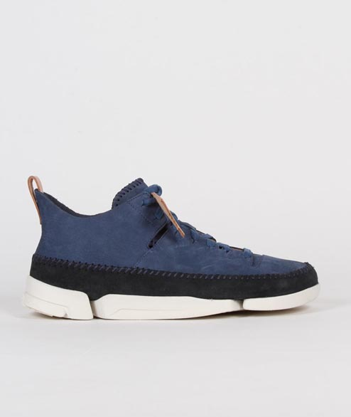 Clarks Originals - Trigenic Flex - Night Blue Nubuck
