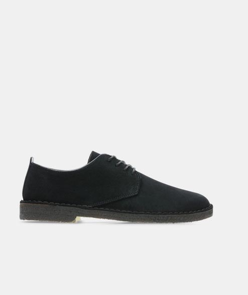 Clarks Originals - Desert London - Black Suede