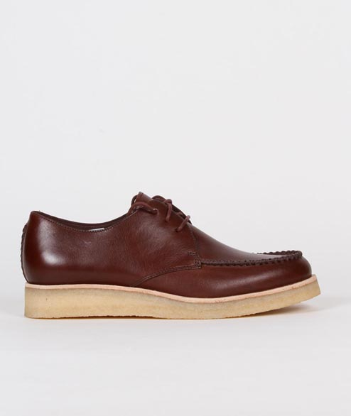 Clarks Originals - Burcott Field - Bordeaux Leather