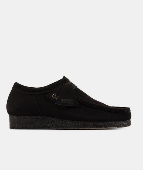 Clarks Originals - Wallabee - Black Suede