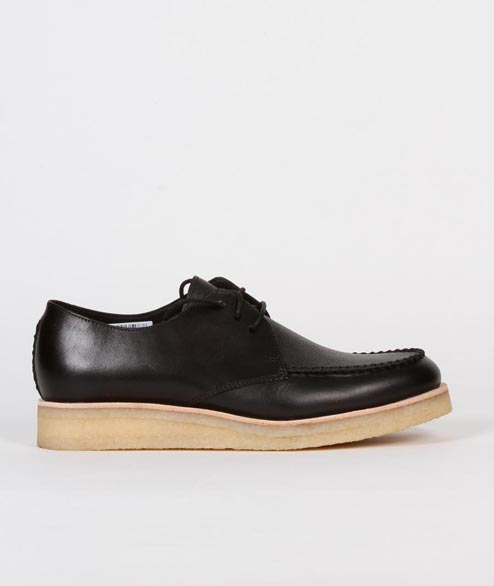 Clarks Originals - Burcott Field - Black Leather