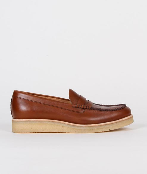 Clarks Originals - Burcott Loafer - Cognac Leather