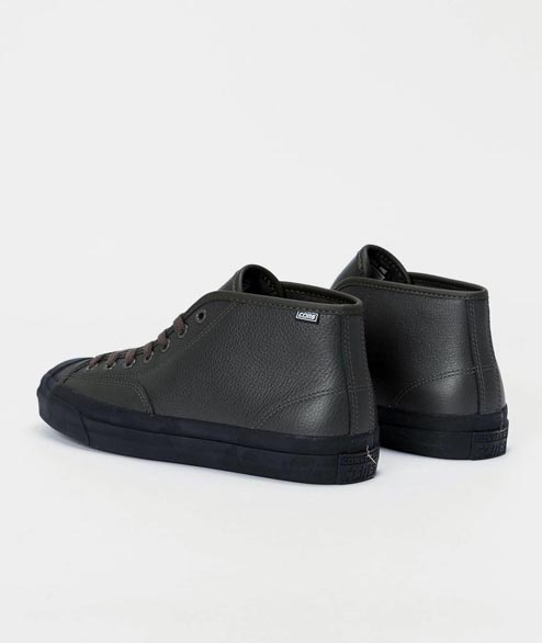 Cons - JP Pro Mid Jake Johnson - Beluga Black
