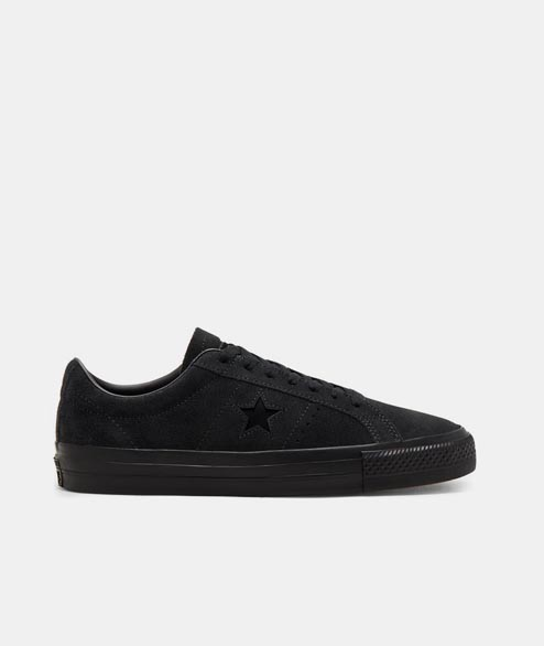 Cons - One Star Pro Ox - Black Black