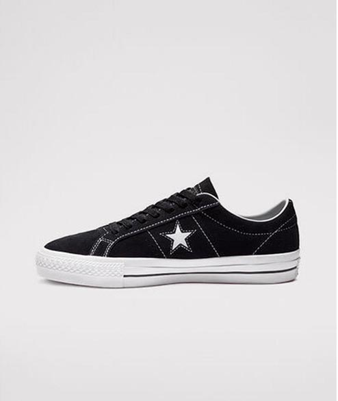 Cons - One Star Pro OX - Black White