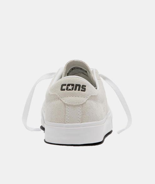 Cons - Louie Lopez Pro OX - White White Black