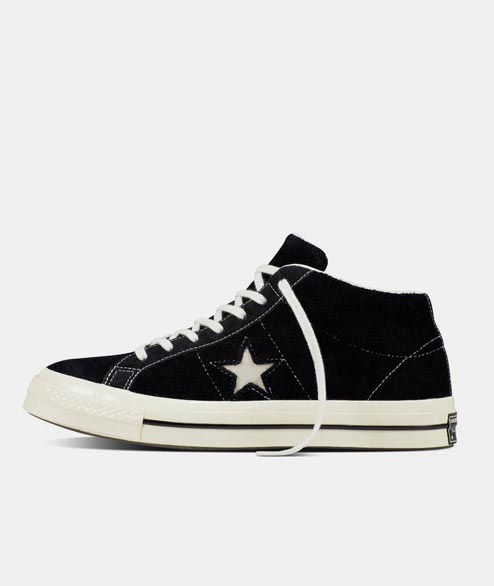 Converse - One Star Mid - Black