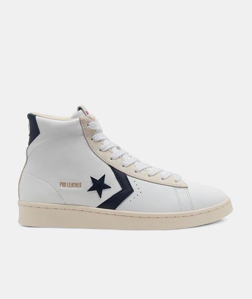 Converse - Pro Leather HI - Optical White Obisdian