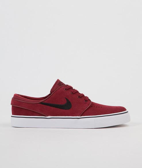Nike SB - Janoski - Dark Team Red Black